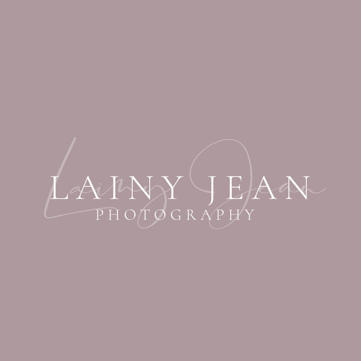 Photography logo for Lainy Jean