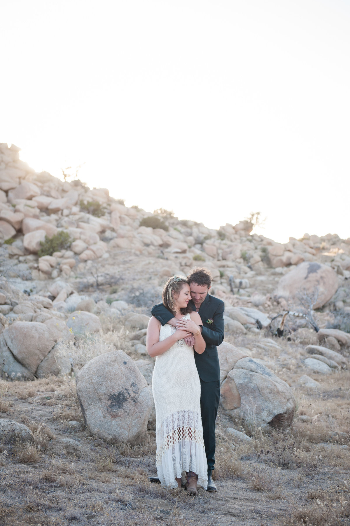 Destination Wedding Photography Joshua Tree Wedding Photography Le Haut Desert Aerie076