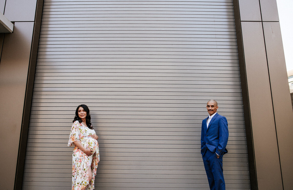 SoCal Standard - San Diego Maternity Photographer - Floral Maternity Session-20