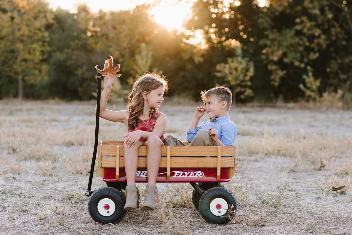 Carlsbad Family Photographer-in the wagon136