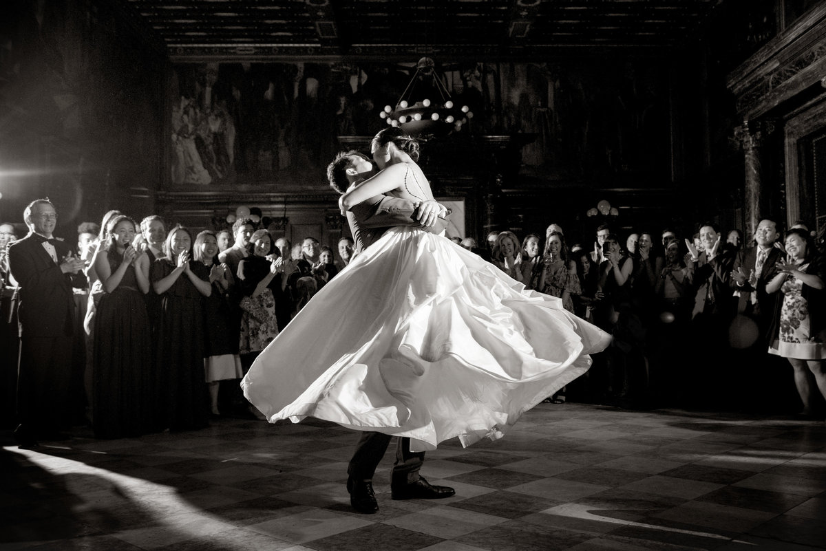 Boston Public Library Wedding