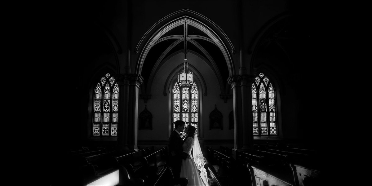 Wedding at St. Joseph's Catholic Church in Washington DC