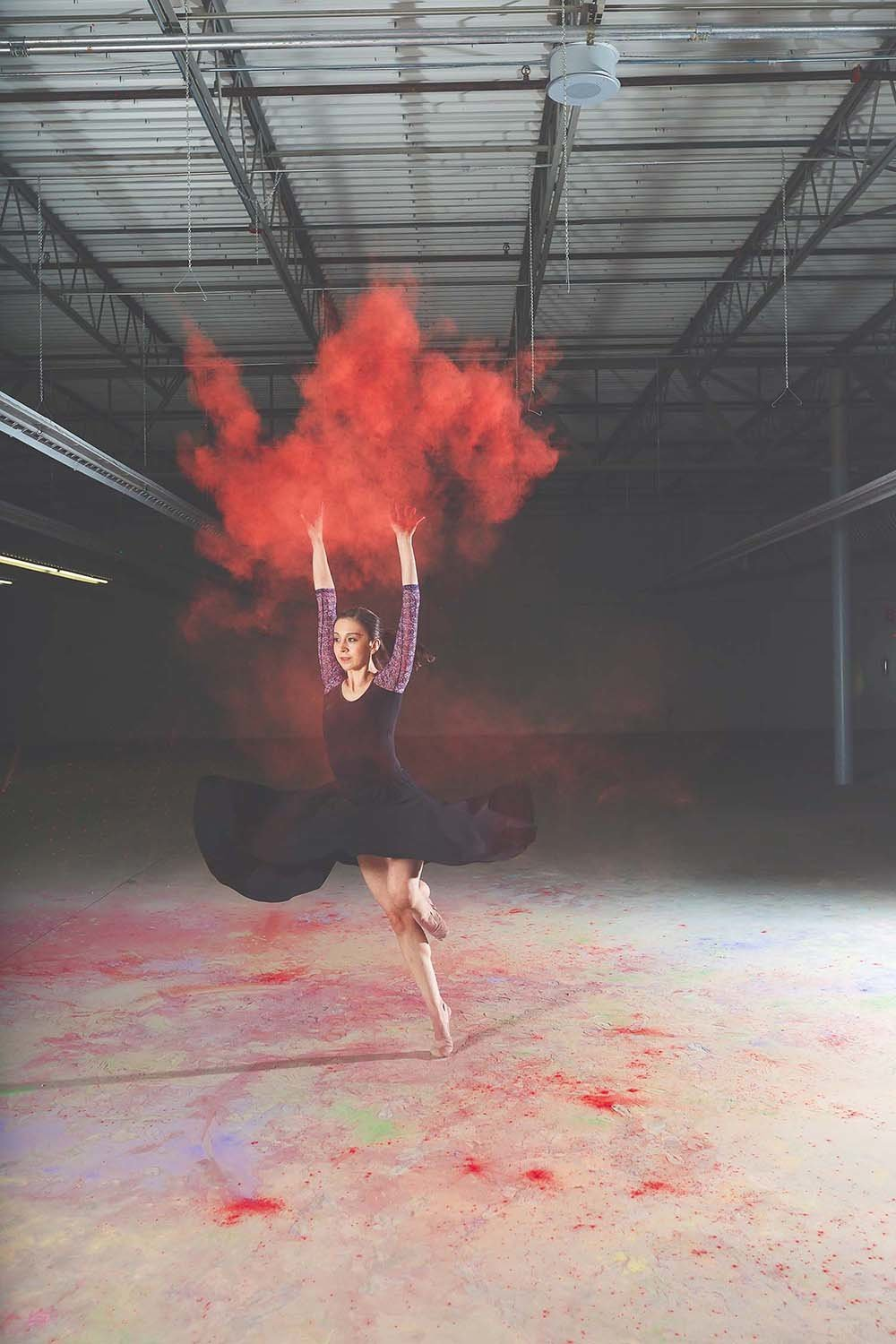 red-holi-powder-dancer-inspiration-breaking-tradition-photography-jacksonville-fl