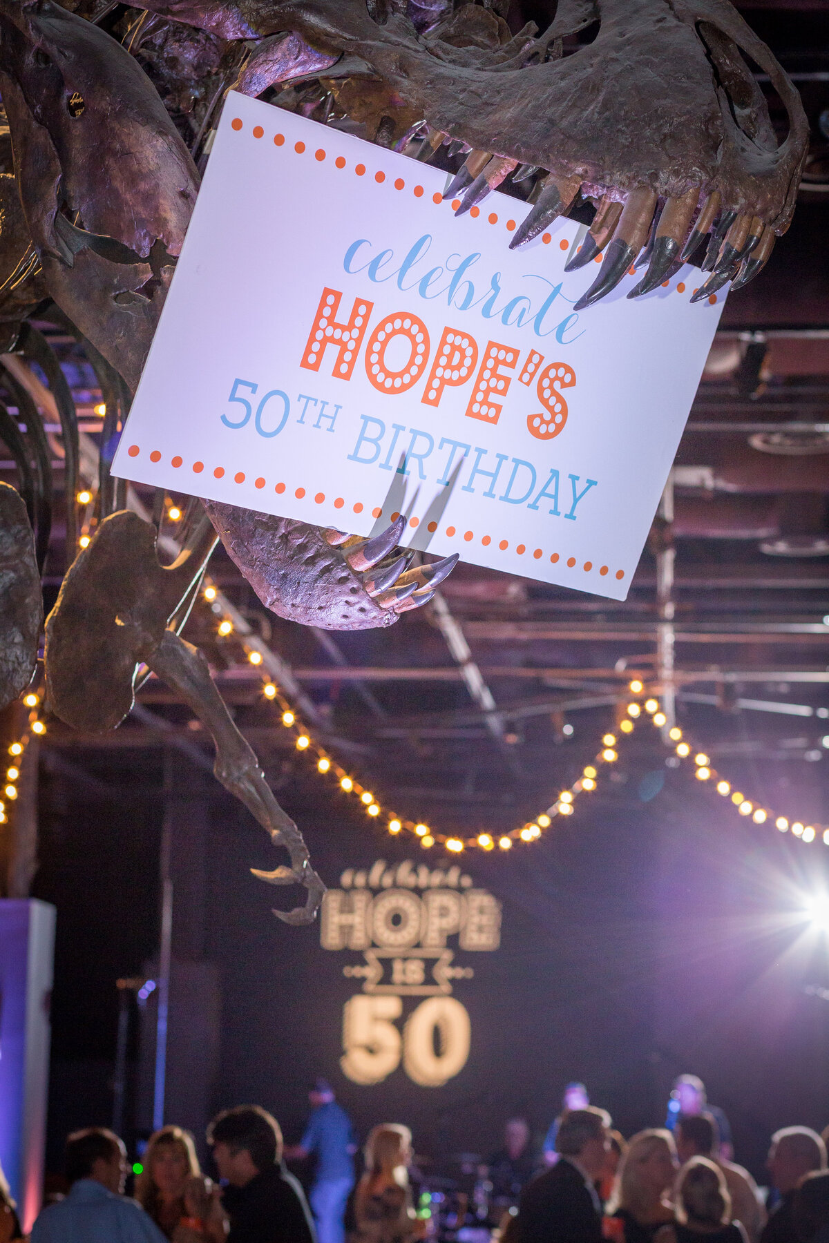 Hope's 50th birthday party at Orlando Science Center | Party Perfect Orlando  20
