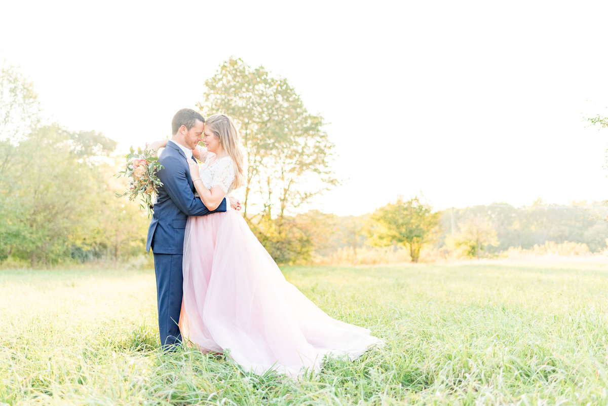 Cait Potter Creative LLC Open Field Rolling Greens Indianapolis Summer Engagement Photos-8