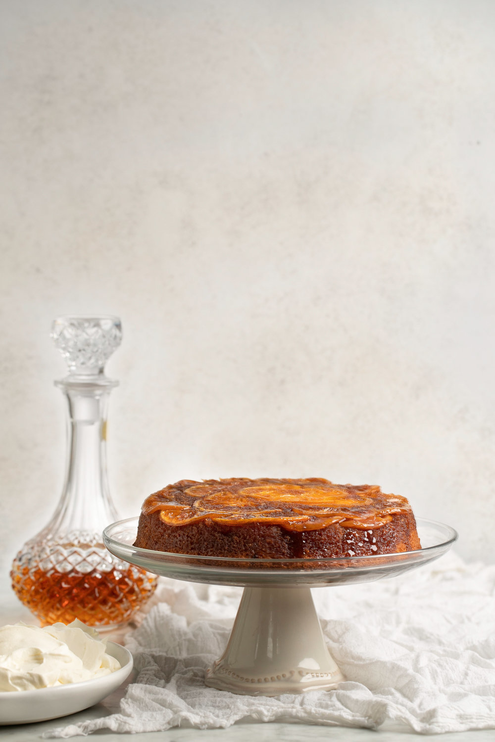 Orange Upside Down Cake - Anisa Sabet - Food Photographer