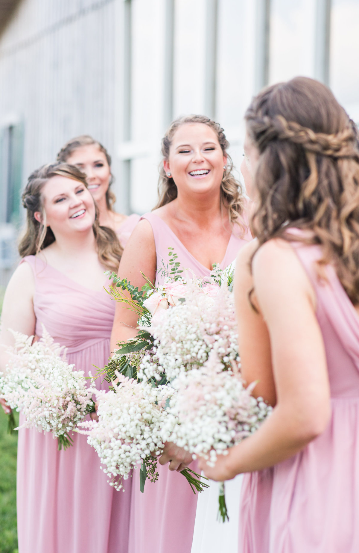Elizabeth Hill Photography Blush and Navy North Carolina Wedding-11