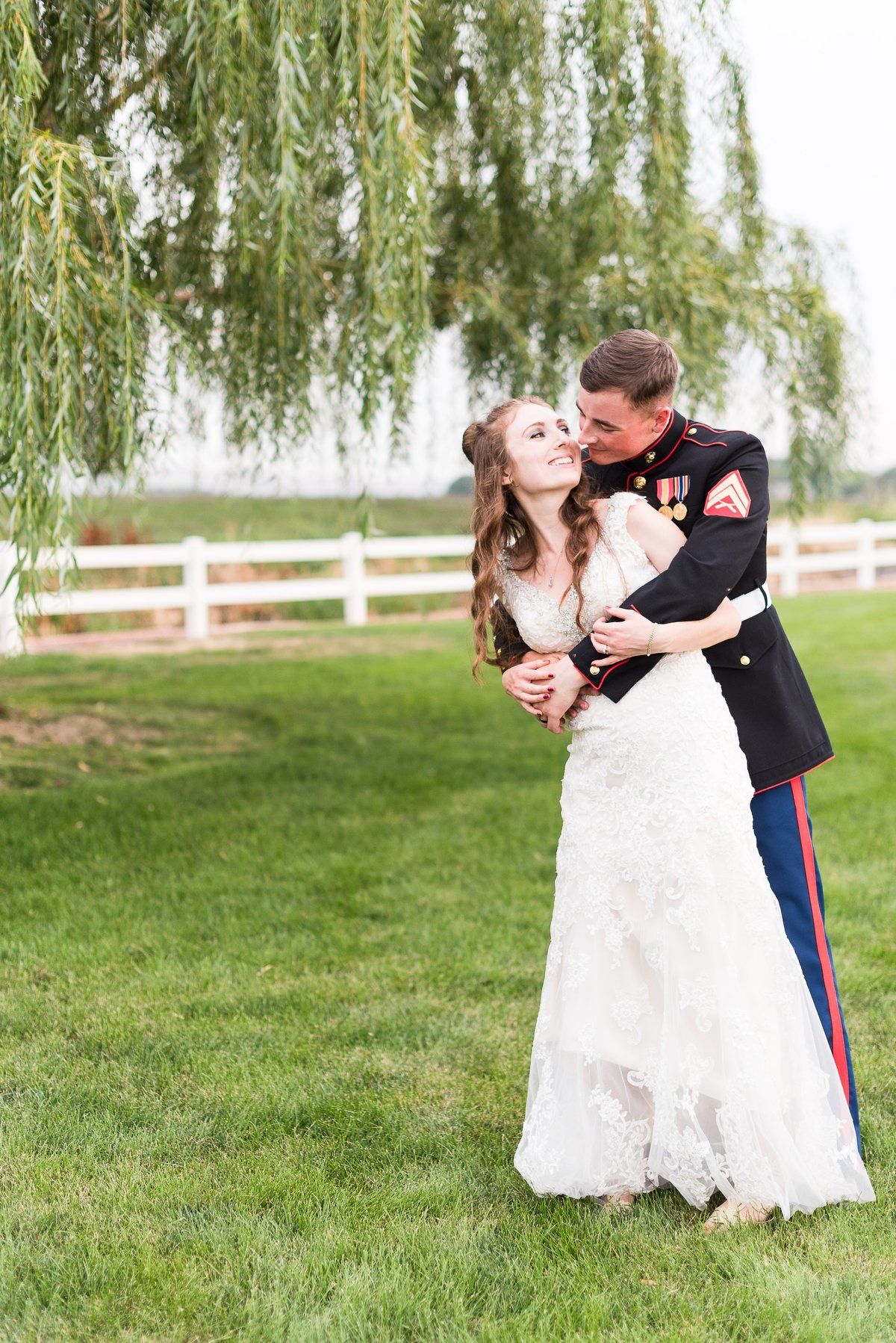 A Summer Willow Grove Barn Wedding in Emmett  - 094