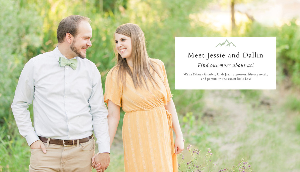 Jessie and Dallin Photography RE-5 COVER text