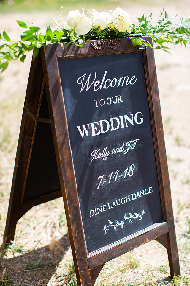 Strawberry-Creek-Ranch-Wedding-Ashley-McKenzie-Photography-Romantic-Mountain-Affair-Navy-Blush-Colorado-welcome-sign
