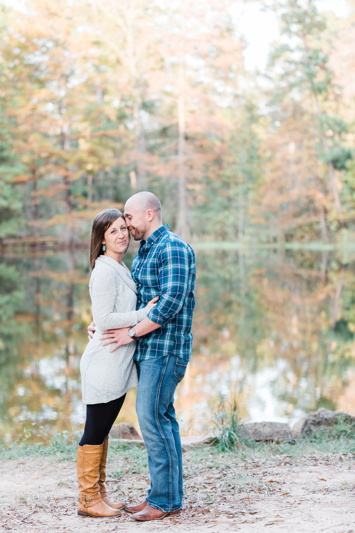 The Woodlands Engagement Photos Colorado Mountain Wedding Photographer | Monica Evans Photography
