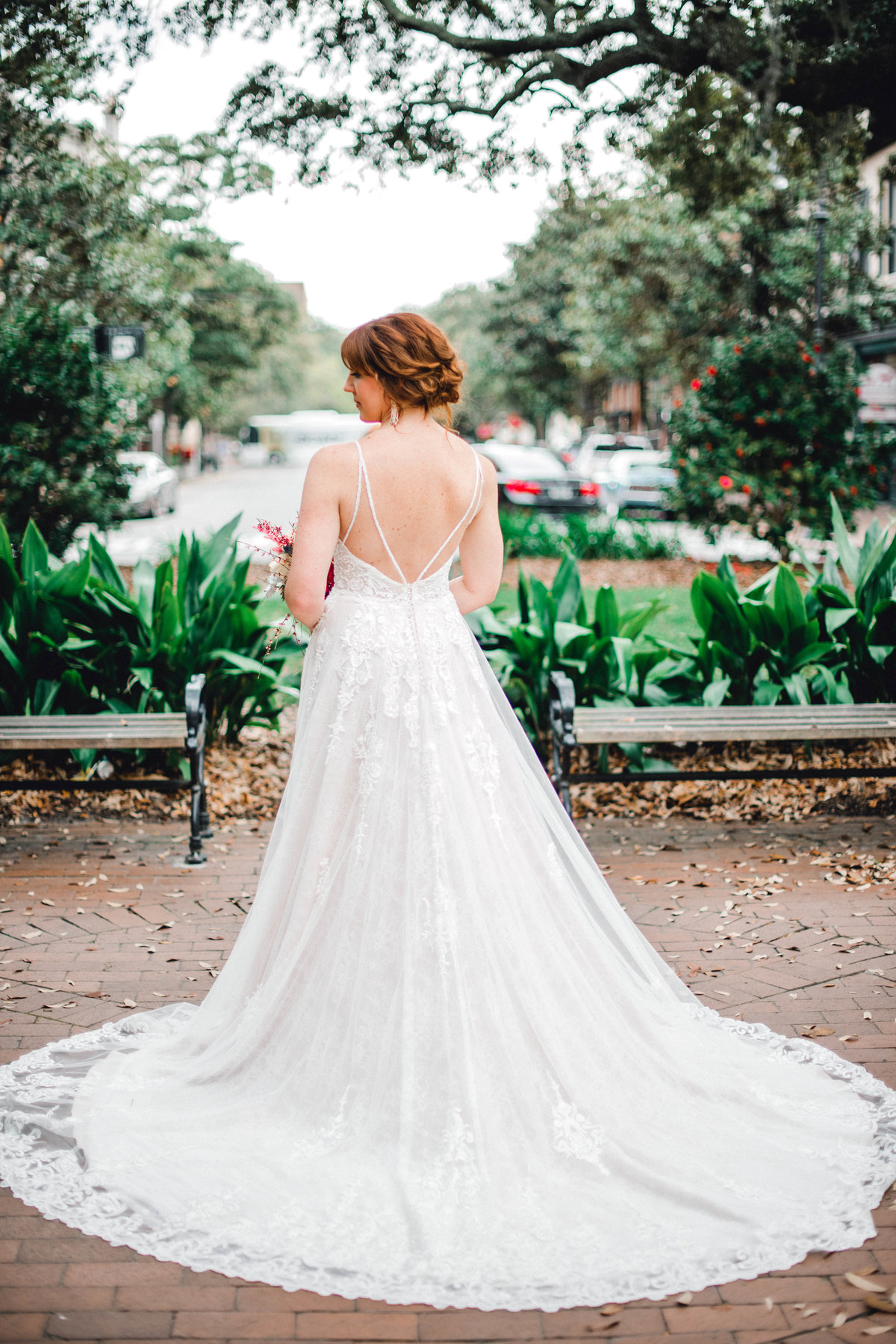 Blue Belle Bridal gown Martina Liana