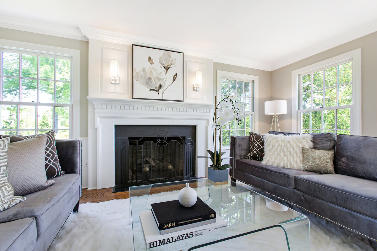 33 Baileys Mill Rd  Basking Ridge, NJ home staging by Simplicity Design Services