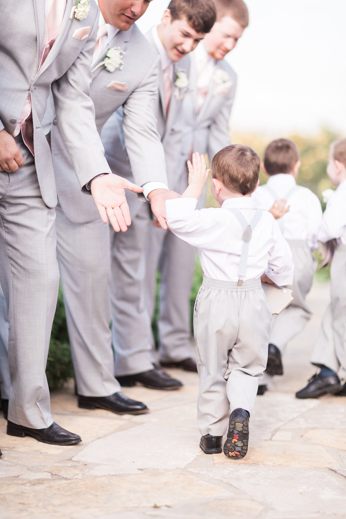 Kairos Celebration Barn Wedding Ringbearers