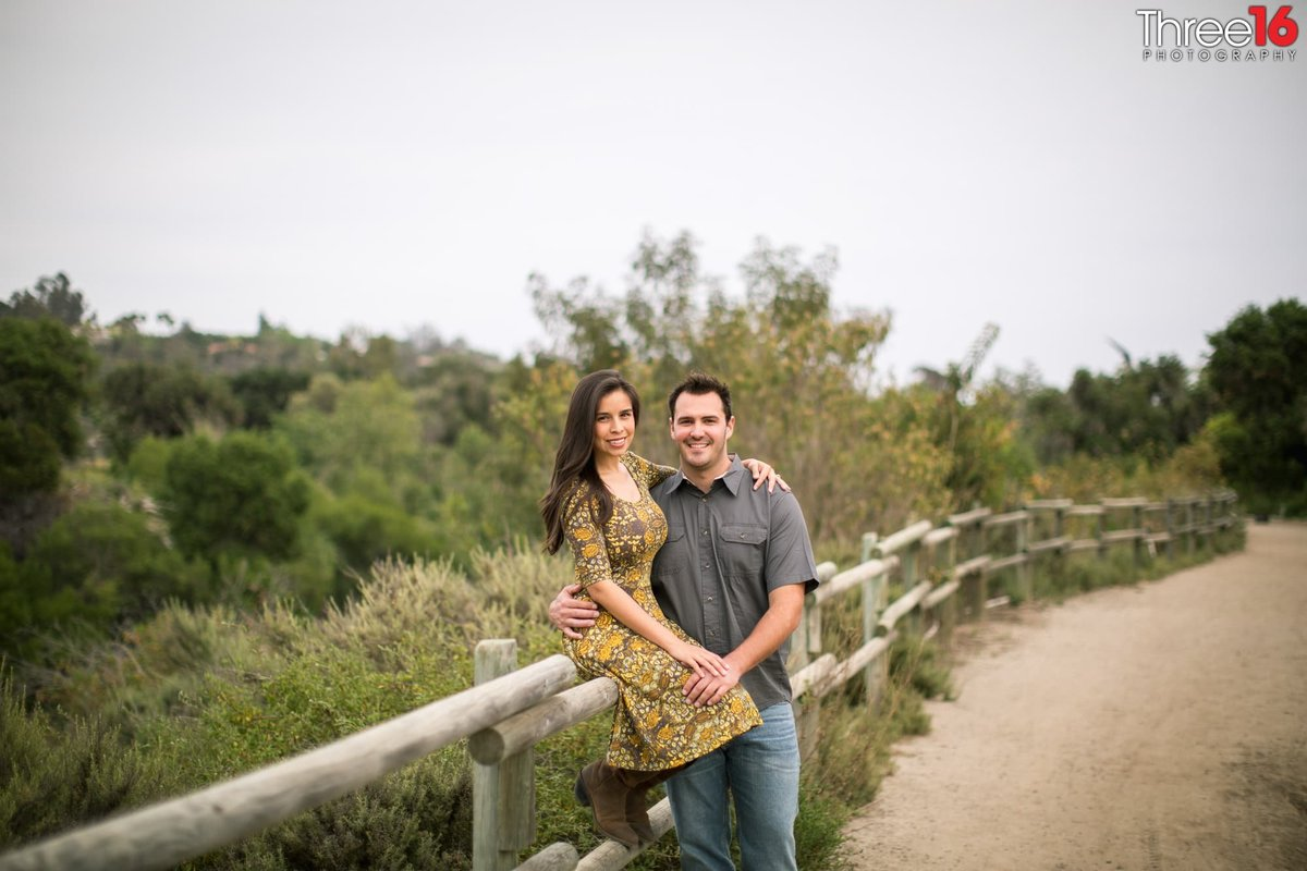 Northwest Open Space Engagement Photos San Juan Capistrano Urban Orange County Hiking Trails