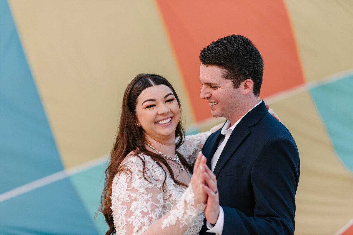 Hot Air Balloon Elopement Marie Monforte Photography-207