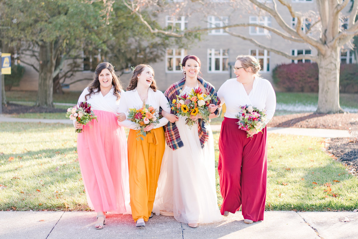 Urban Artifact Brewery Colorful Fall Wedding-132