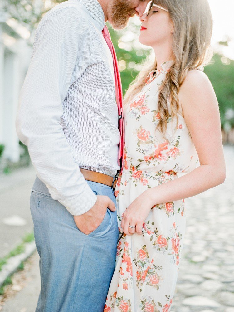 Rebekah Emily Photography Charleston Wedding Photographer Downtown Charleston Engagement Session_0010