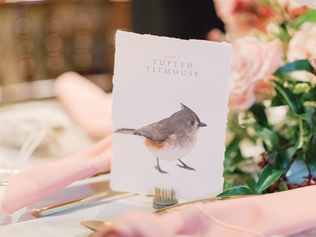 Fall Delaware wedding bird