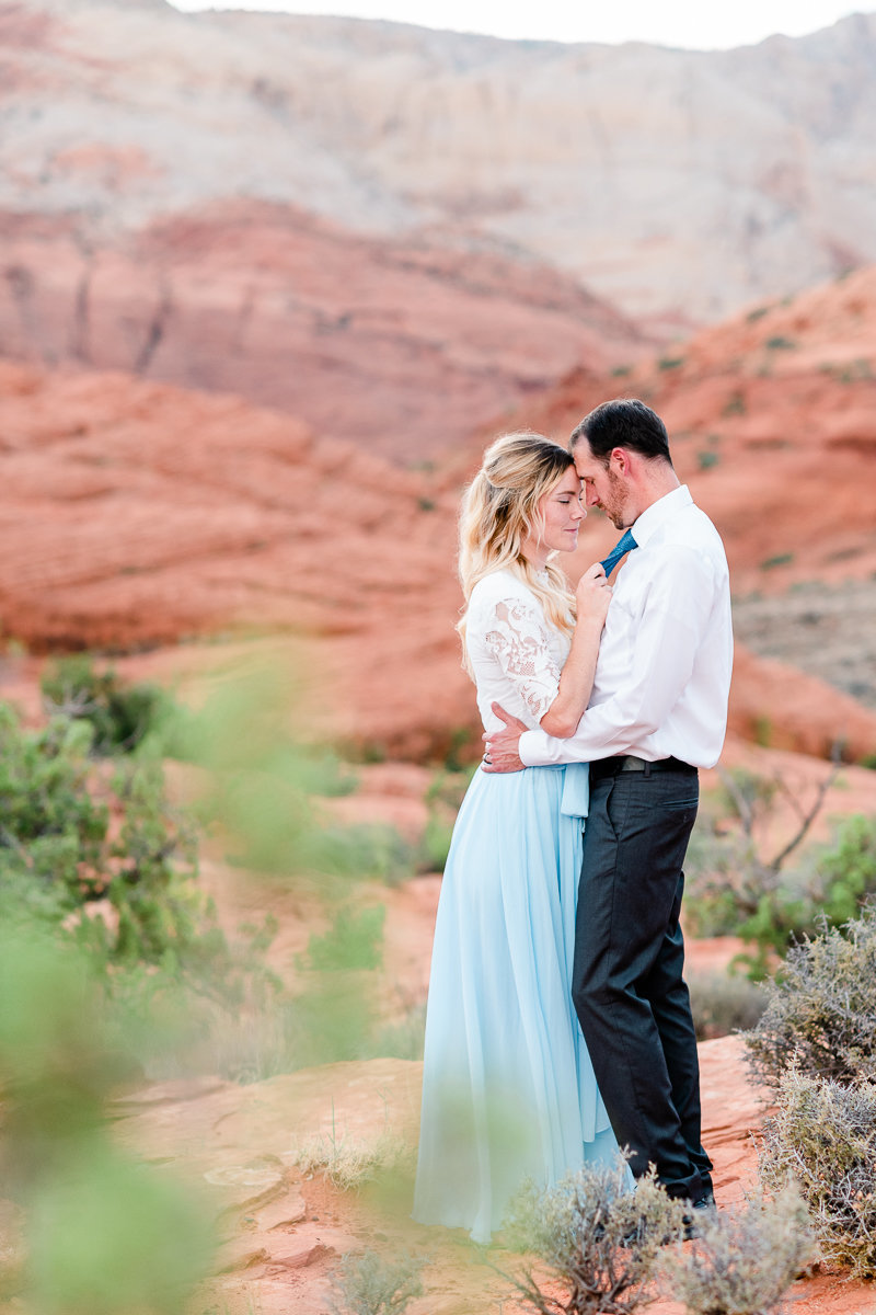 Utah Engagement | Wedding Photographer | Snow Canyon Bride and Groom Photos-1