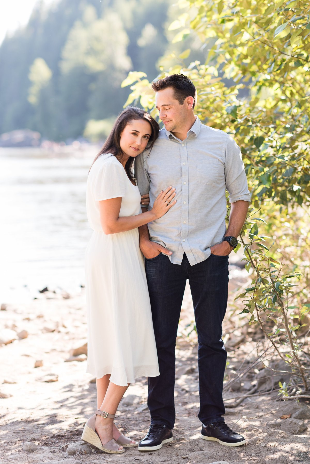 Rattlesnake Lake Engagement Session - 09