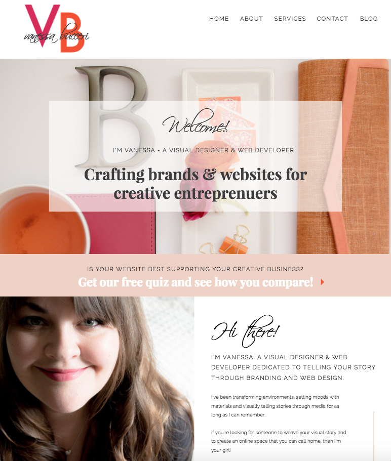 Branding & Web Design   Vanessa Bucceri   Portfolio