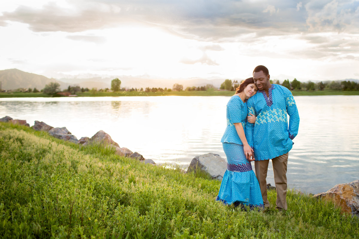 denver-lake-engagement-portrait