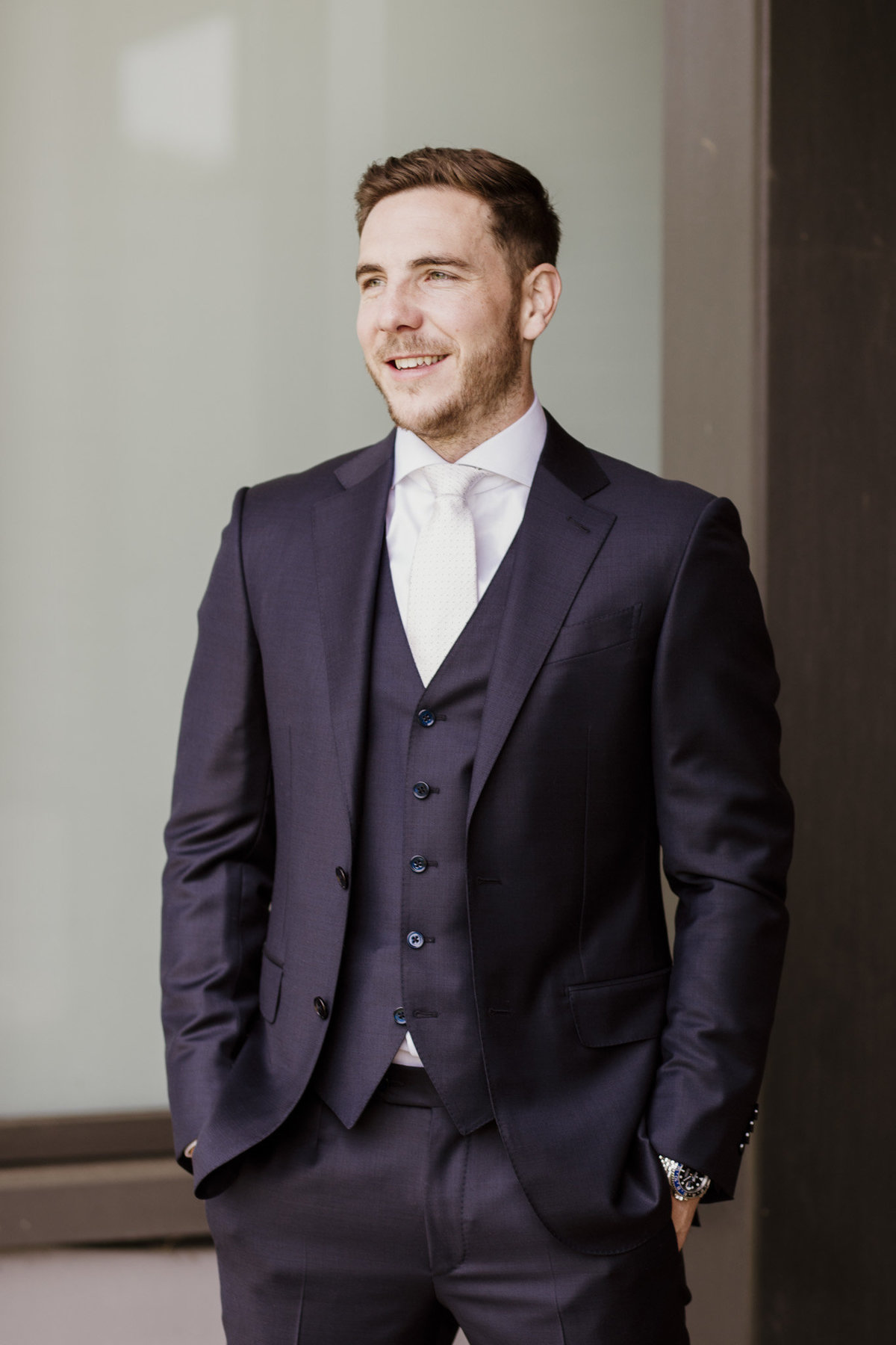Syon Park Wedding Groom