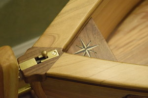 Nautical Cradle Details by Sam Rouse Furniture