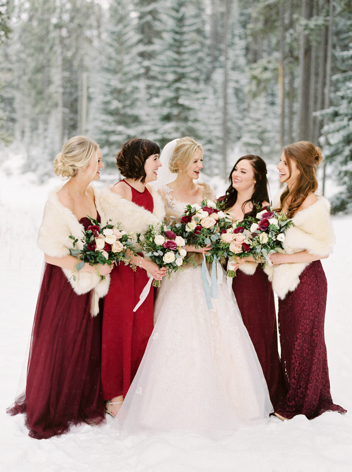 Banff Winter Wedding Photo Inspiration - Banff Wedding Planner