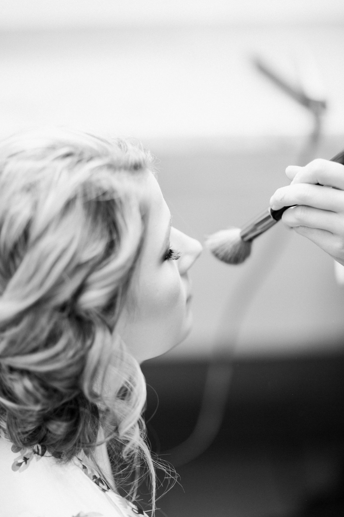 The Milestone Morgan Creek Barn Walters Estates Wedding Makeup