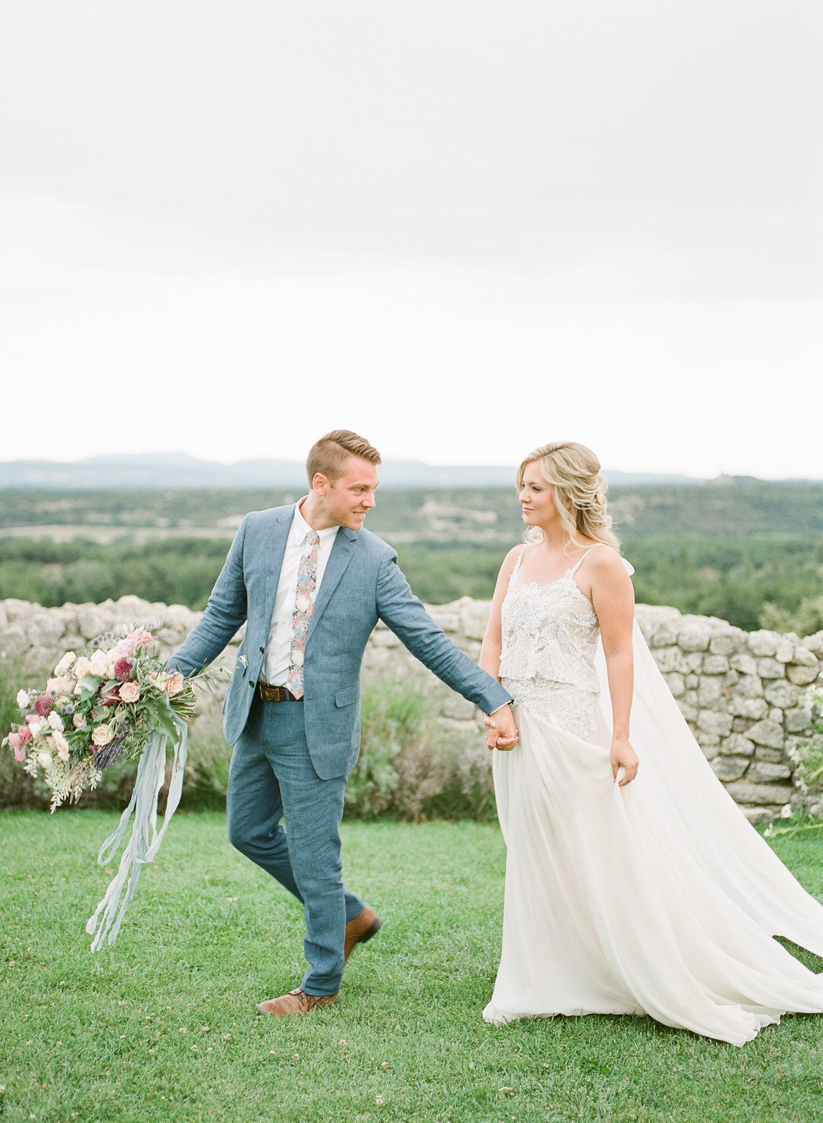 Domaine de Sarson Provence France Wedding-115