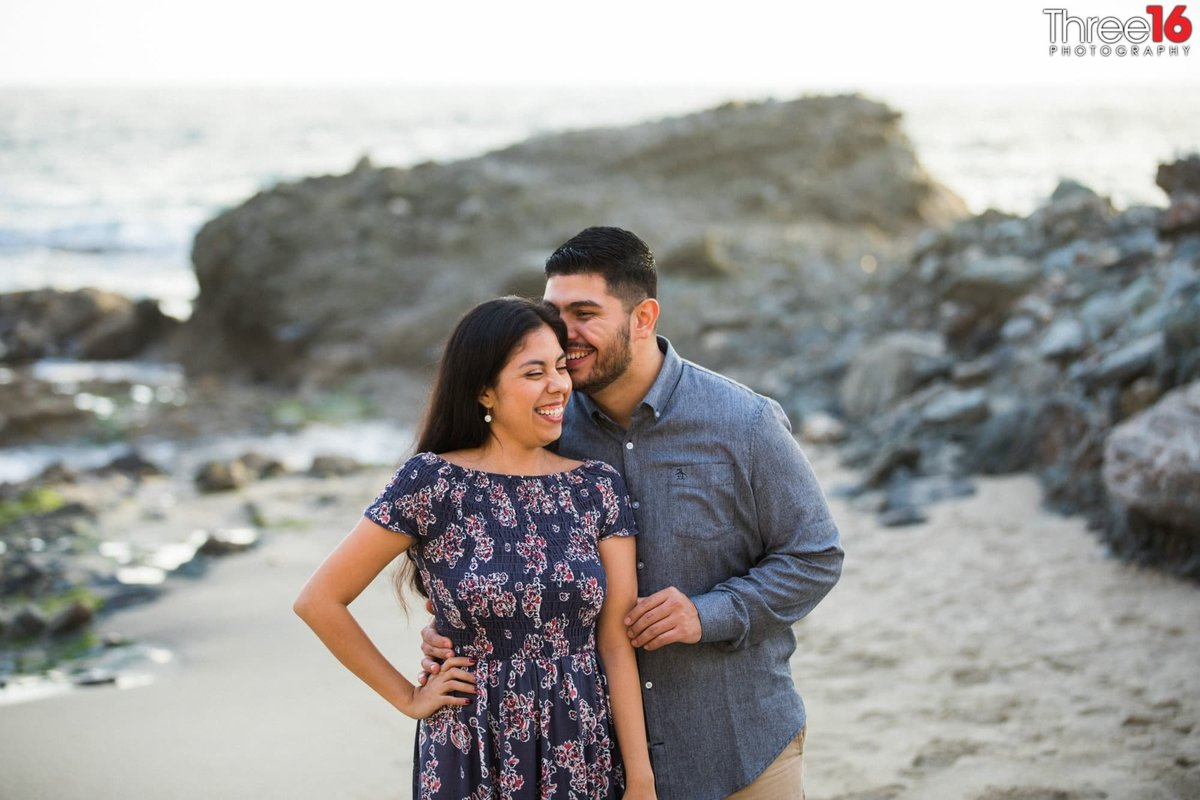 Table Rock Beach Engagement Photos Laguna Professional Photography