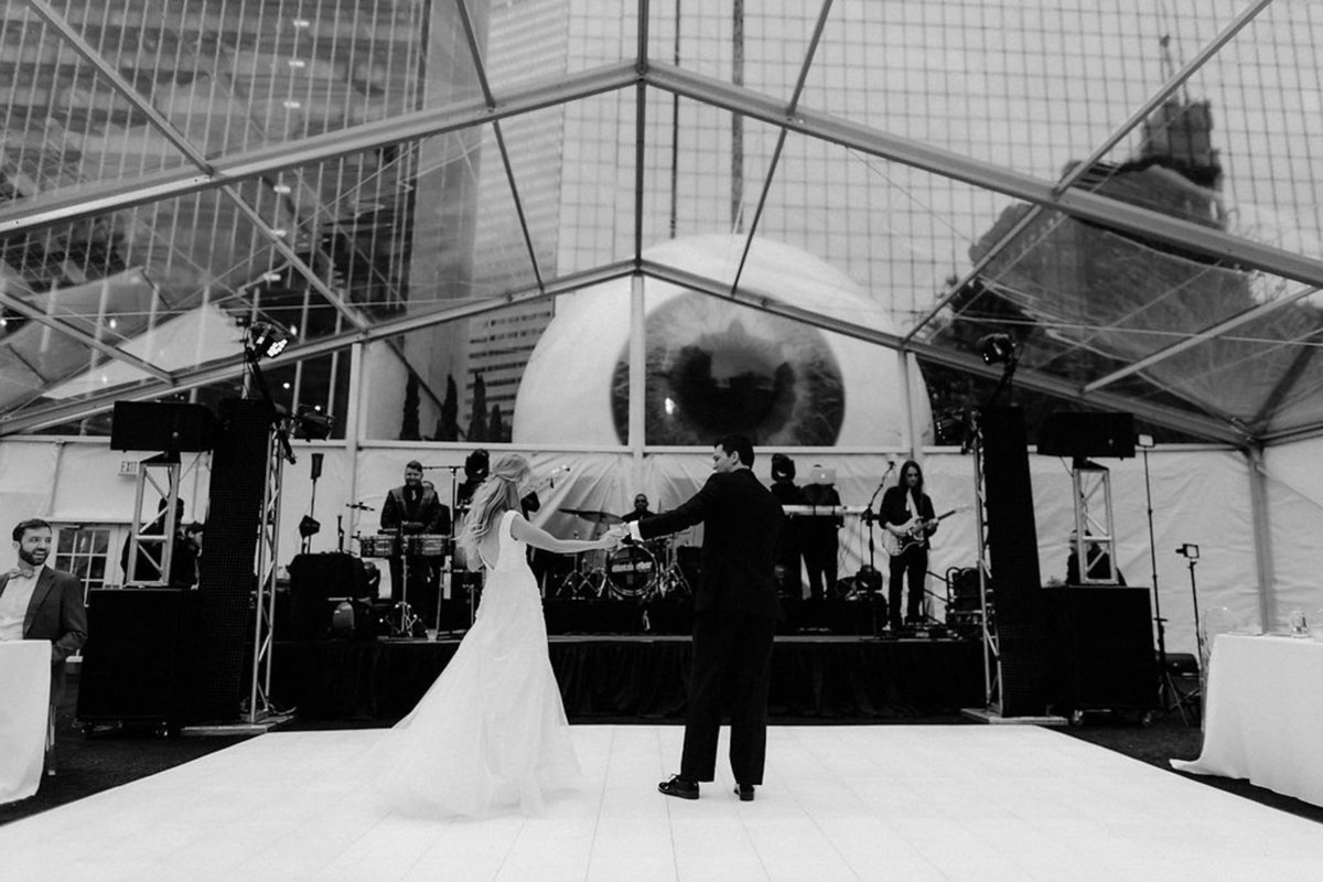Joule Hotel Dallas Wedding Reception-4