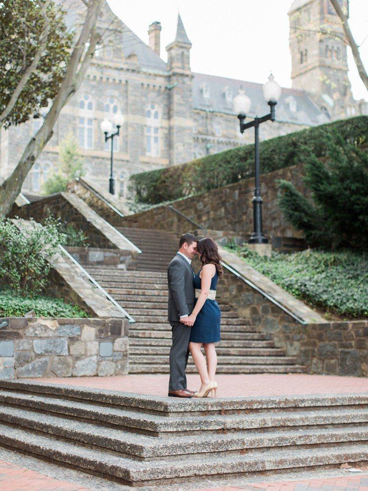 Rebekah Emily Photography Washington DC Photographer Georgetown Engagement Session_0003