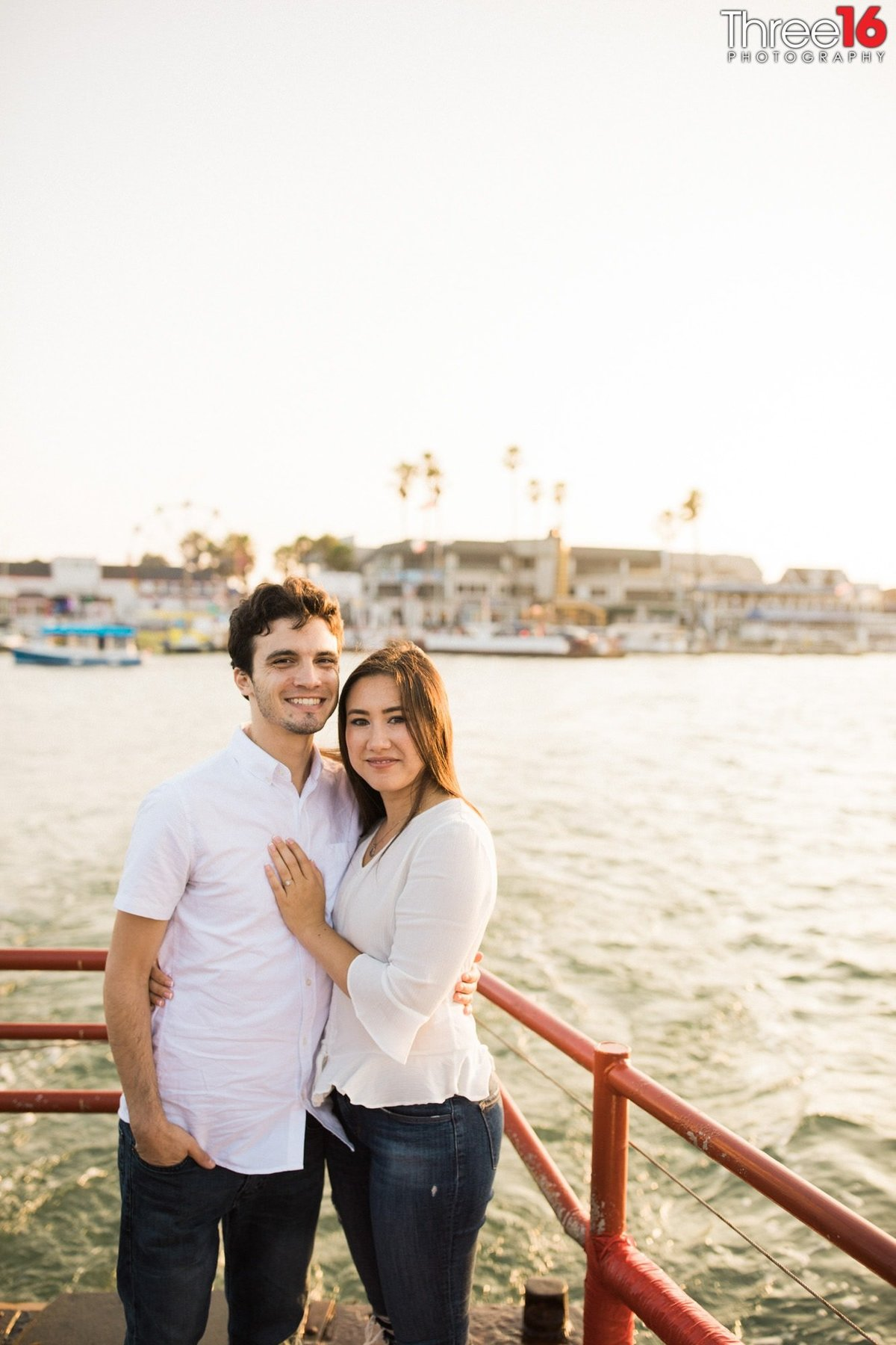 Balboa Island Engagement Photo Session Newport Beach