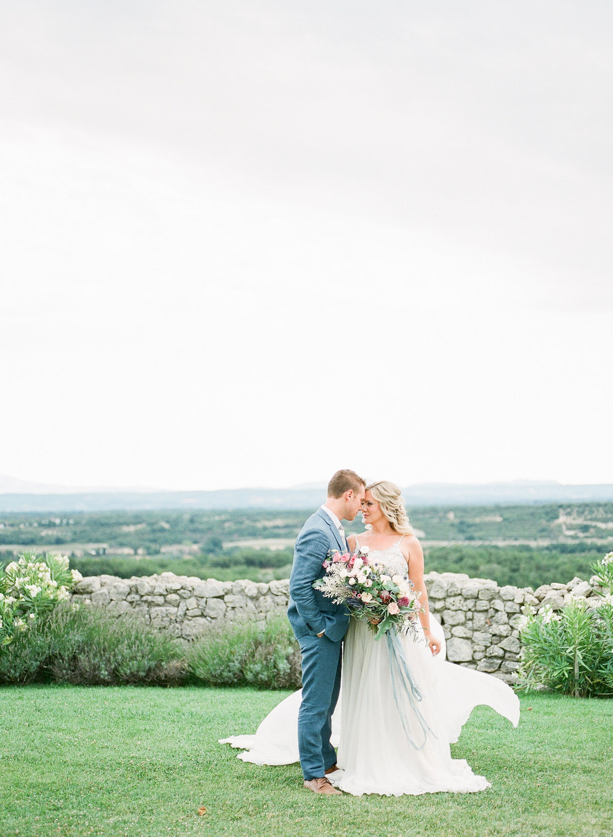 Domaine de Sarson Provence France Wedding-104
