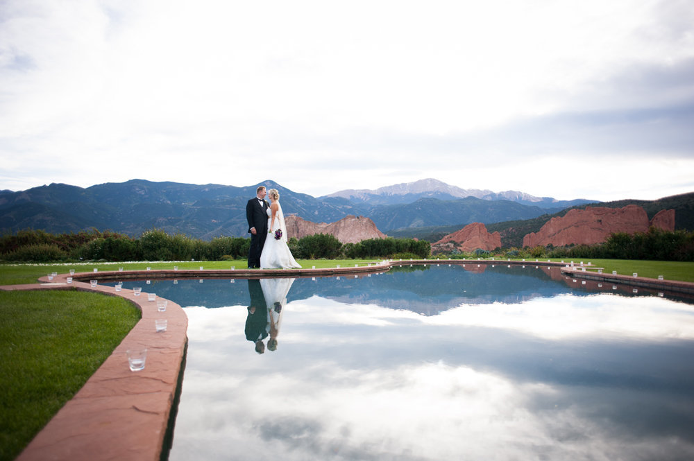 Reflection Pool at Garden of the Gods Resort