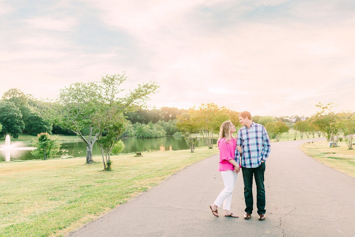 engagement session in rock hill south carolina