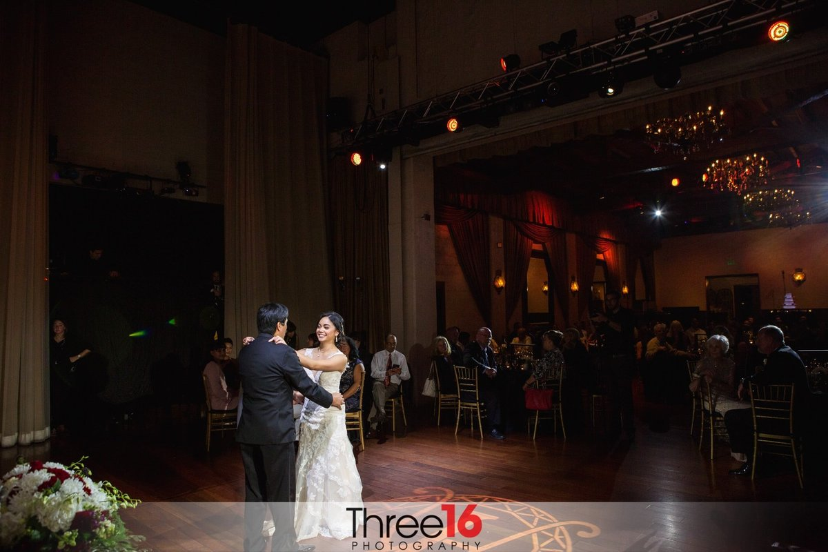 Padua Hills Theatre Wedding Claremont First Dance