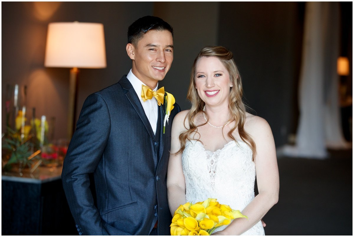 Austin wedding photographer w hotel wedding photographer bride groom portrait