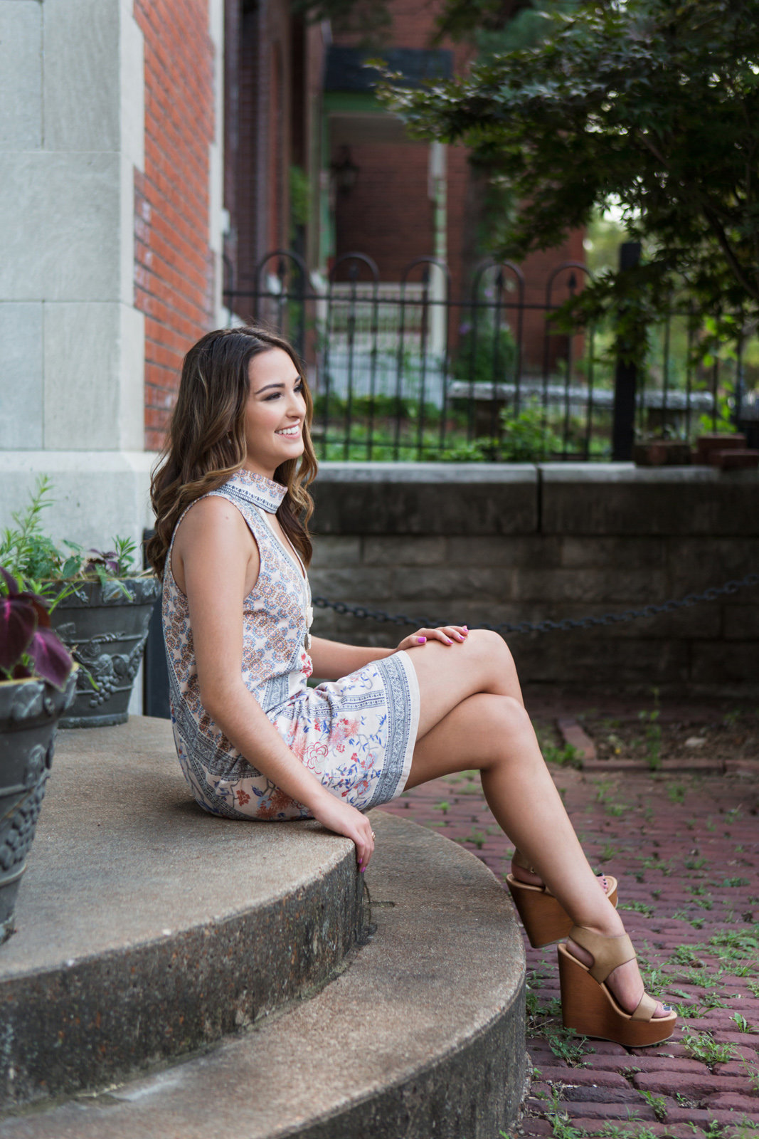 L Photographie high school senior photos Soulard 46