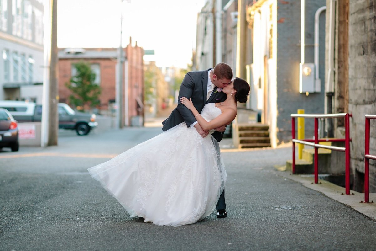 Snohomish county wedding photographed in everett