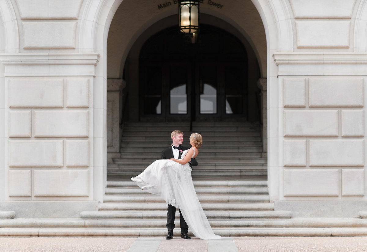 University of Texas wedding