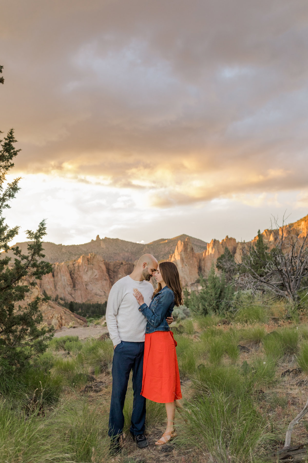 Smith Rock Engagement Session - Bend Oregon-135