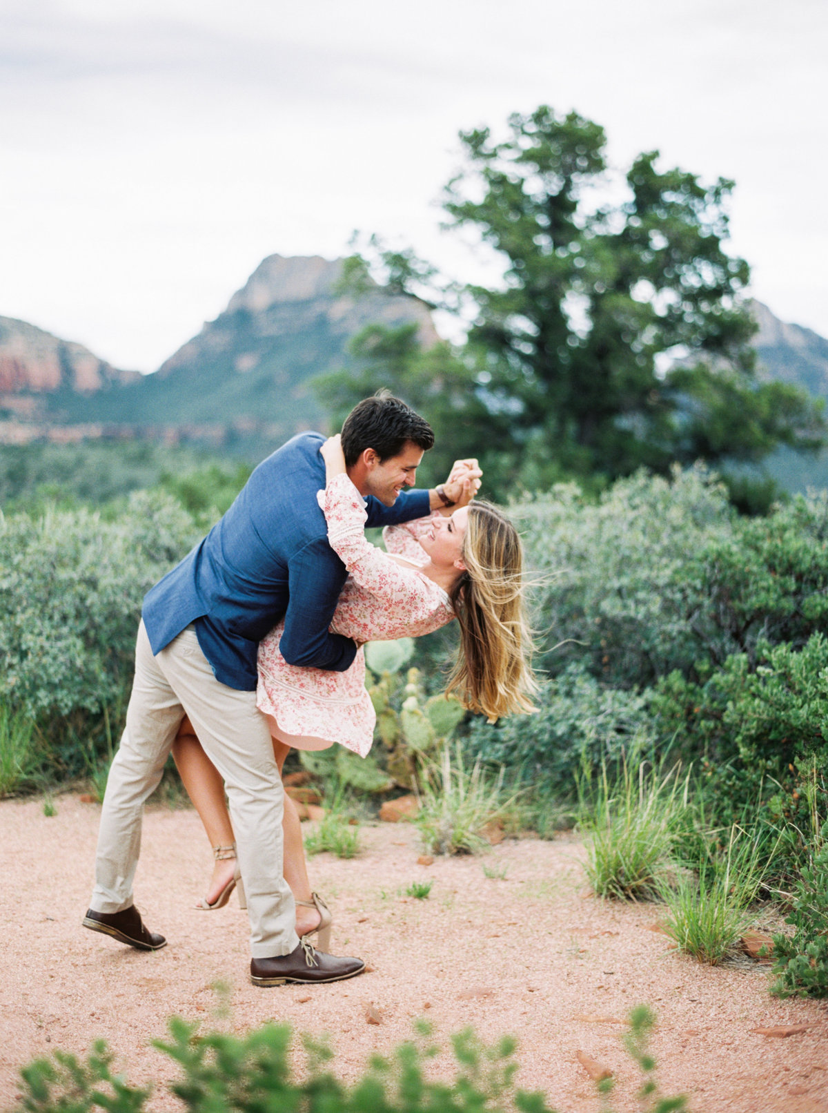 Sedona Arizona Engagement Session - Mary Claire Photography-14