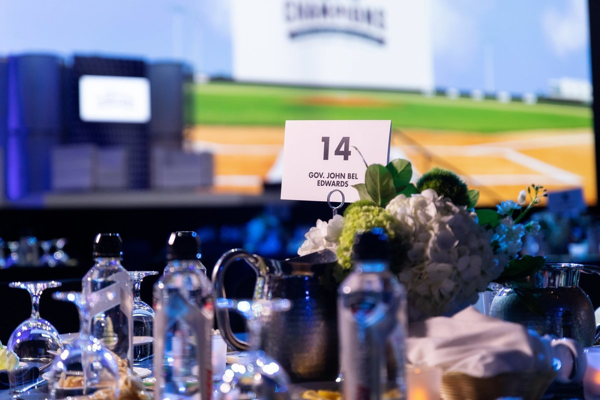 Collin Richie Photo Night of Champions Gala Centerpiece