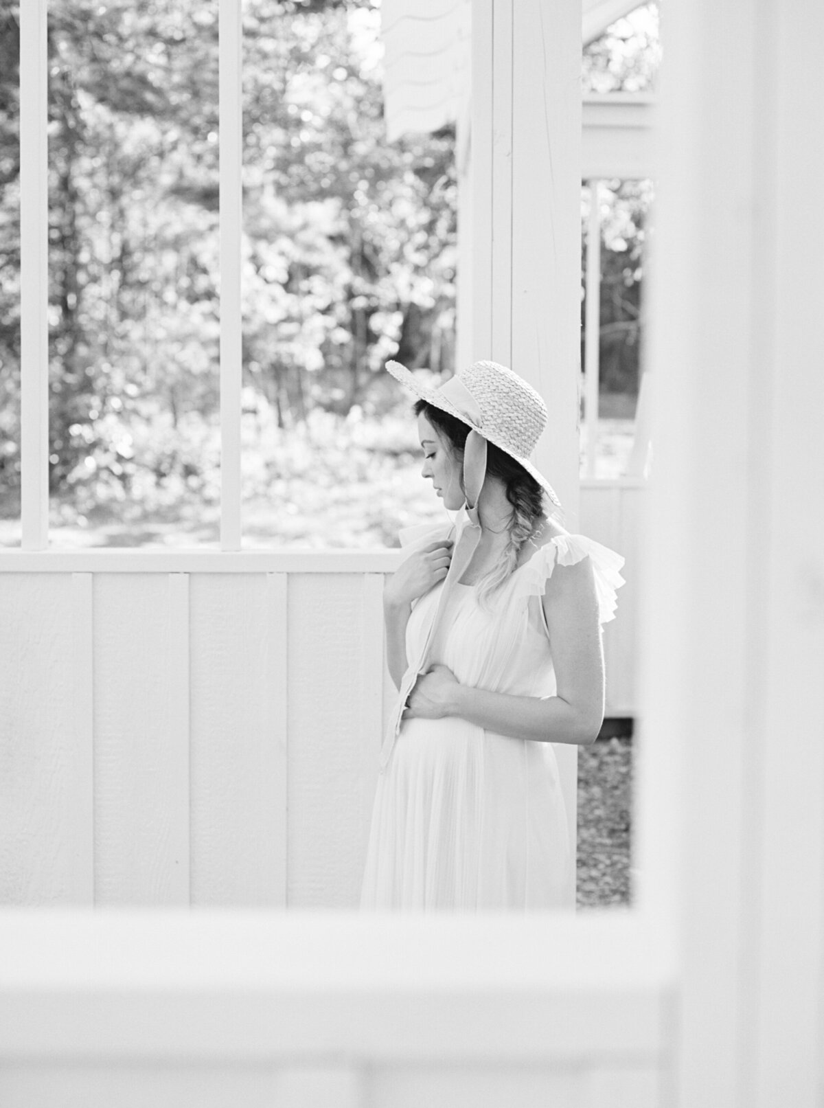 Michela Watson Photography Michela Brooke Photography Natural Organic Timeless Simple Feminine Fine Art Film Maternity Pregnancy Motherhood Ivy Rose Barn-23