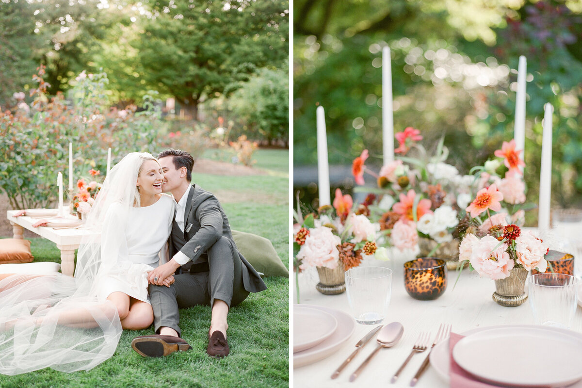 Seattle Rose Garden Micro Wedding - Tetiana Photography - Seattle film wedding photographer - Fine Art - Elopement - 2