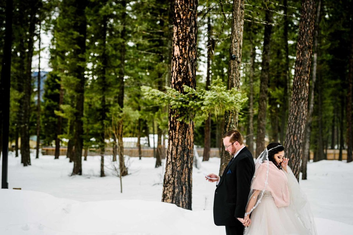 wedding in bigfork montana by stephane lemaire photography